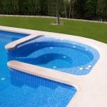 Coronación de piscina