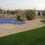 """Tematizacion y coronación de piscina """"in situ"""""""