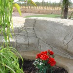 Roca artificial realizada a mano