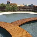 Construcción de lago exterior en Hotel Beatríz Albacete